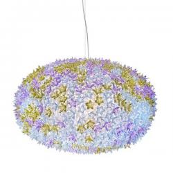 Kartell Bloom Pendant Round Lamp Lavander
