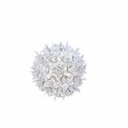 Kartell Bloom Wall/Ceiling Lamp Crystal