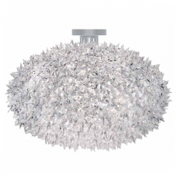 Kartell Bloom Ceiling Lamp Crystal