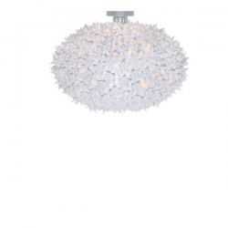 Kartell Bloom Ceiling Lamp Glossy White