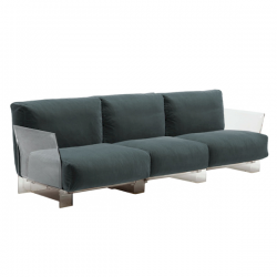 Kartell Pop 3 Seater Sofa Outdoor