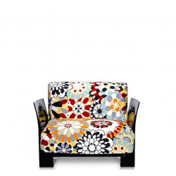 Kartell Pop Seater Missoni Shades of brown