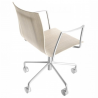 Lapalma Thin Swivel on Wheels Armchair