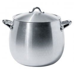 Alessi Mami Cooking pot with Lid in Aluminium