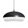 Fritz Hansen Aeon Rocket Pendant Light Dark Grey