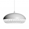 Fritz Hansen Aeon Rocket Pendant Light Light Grey