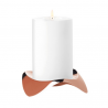 Stelton Papilio Uno Candleholder Copper
