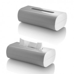Alessi Birillo Tissue Box White