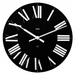 Alessi Firenze Clock Black