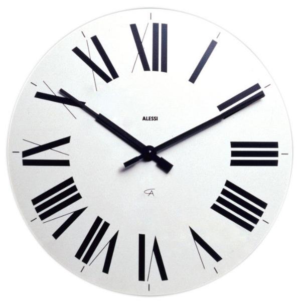 Alessi Firenze Clock White
