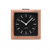 Leff Block Clock Copper