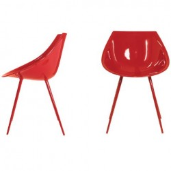 Driade Lago Chair Red