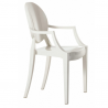 Kartell Louis Ghost Chair Glossy White