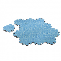 Magis Puzzle Carpet Water
