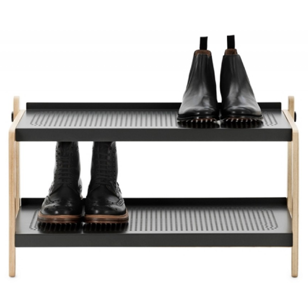 Normann Copenhagen Sko Shoe Rack Dark Grey