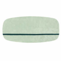 Normann Copenhagen Oona Carpet 90 x 200cm Mint