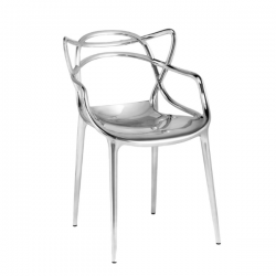 Kartell Masters Chair Silver