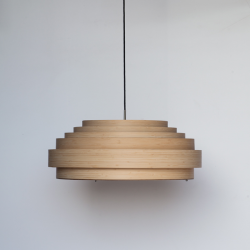 Ay Illuminate Thin Wood Lampshade