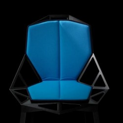 Magis Chair One Cushion Seat and Back Sky Blue