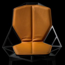 Magis Chair One Cushion Seat and Bac Natural Leather