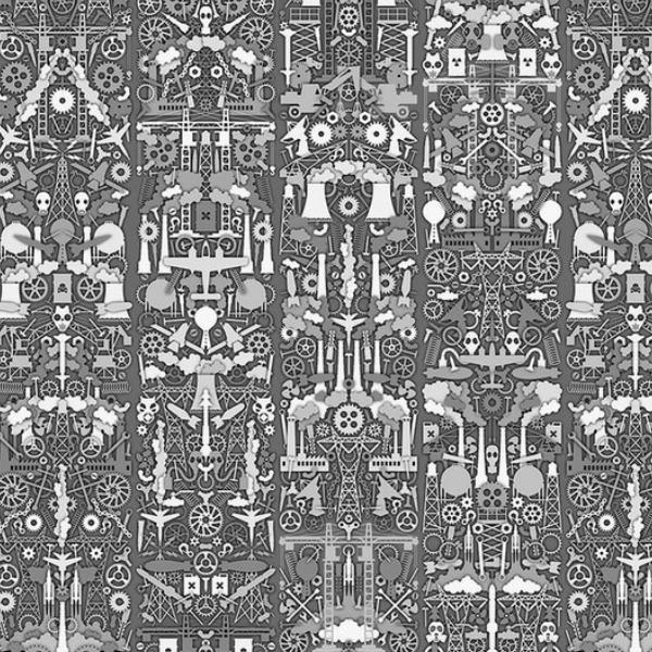NLXL Industry Wallpaper by Studio Job