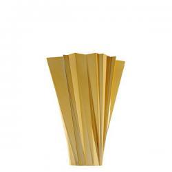 Kartell Shanghai Vase Metallic Gold