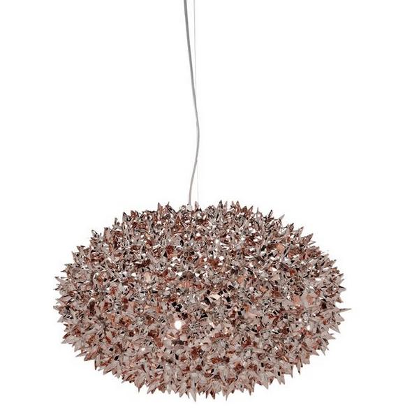 Kartell Bloom Large Metallic Pendant Lamp Chrome