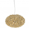 Kartell Bloom Large Metallic Pendant Lamp Gold