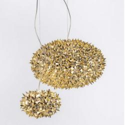 Kartell Bloom Large Metallic Pendant Lamp