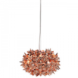 Kartell Bloom Large Metallic Pendant Lamp Copper