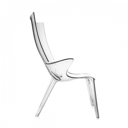 Kartell Uncle Jim armchair Crystal