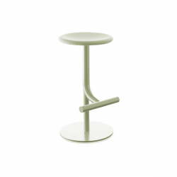 Magis Tibu Stool  Frame: olive green Seat in fabric: olive green