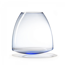 Goods Wobble Vase 45 Blue transperant