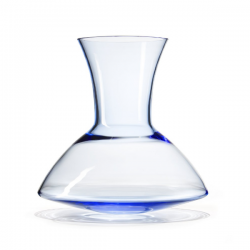 Goods Wobble Vase 75 Blue transparent