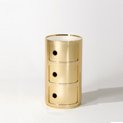 Kartell Componibili Metallic 2 Sections