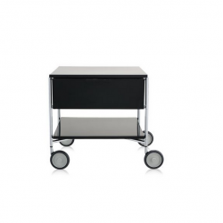 Kartell Mobil 1 Drawer Opaque Slate (not transparent)