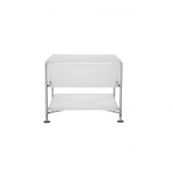 Kartell Mobil 1 Drawer Opaque Ice