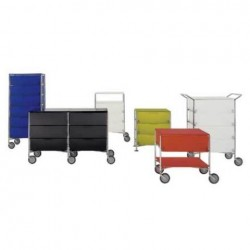 Kartell Mobil 3 Drawers and Shelf