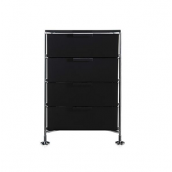 Kartell Mobil 4 Drawers Glossy Smoke
