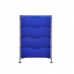 Kartell Mobil 4 Drawers Opaque Cobalt blue