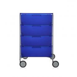Kartell Mobil 4 Drawers Opaque Cobalt blue