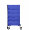 Kartell Mobil 5 DrawersOpaque Cobalt blue