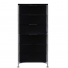 Kartell Mobil 6 Drawers Glossy Smoke