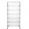Kartell Mobil 6 Drawers Opaque Ice