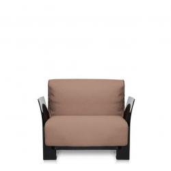 Kartell Pop Seater Farbric Trevira Grey