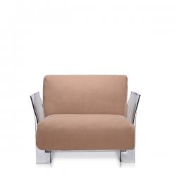 Kartell Pop Seater Farbric Trevira Dove grey