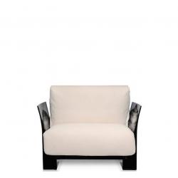 Kartell Pop Seater Farbric Trevira White