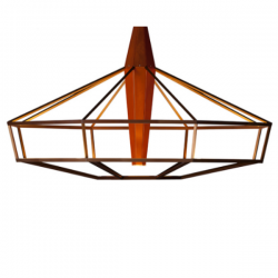Driade Lampsi Lamp Orange