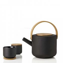 Stelton Theo Tea Mug with Coaster