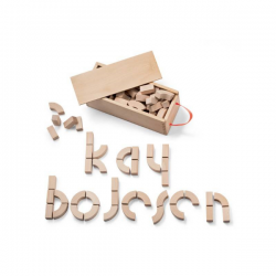 Kay Bojesen Alphabet Blocks